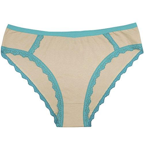 Walant Damen Sexy Baumwolle Tangas Unterwäsche Seamless Unterhose Silps Strings Low Waist T-unterwäsche Unterwäsche (6er Set) Slip-1
