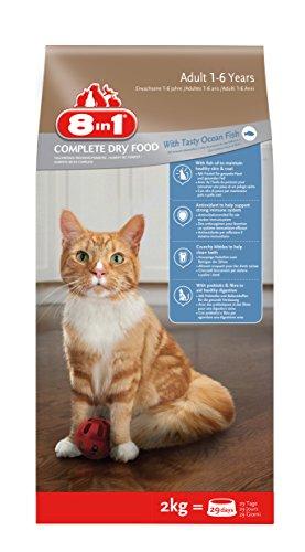 8In1 Alimento Completo per Gatti Adulti Ricco In Pesce Oceanico - 2 kg