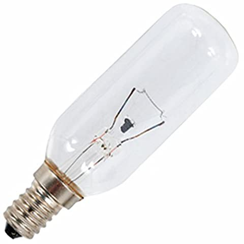 SPARES2GO Universal E14 SES Long 40W Cooker Hood Vent Extractor Lamp Light Bulb