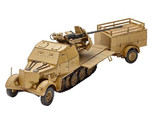 Revell - 03207 - Maquette De Char d'assaut - SD.kfz - 140 Pièces - 1/72