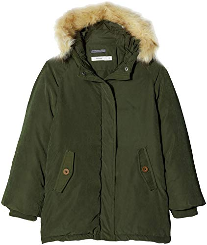Name It Nmmmanson Parka Jacket, Giacca Bambino, Verde (Forest Night Forest Night), 104