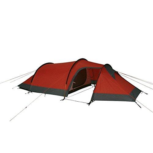 10T SiliconeValley Tente de randonnée 3 personnes Orange 310 x 210 x 110 cm