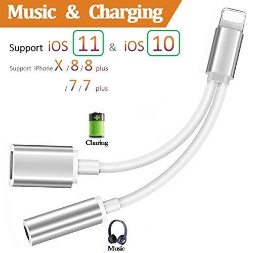 Iluminación conector auriculares adapter iPhone 8/8