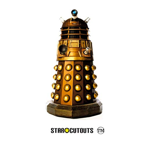 Star Cutouts SC916 Dalek Caan Doctor Who Mini-Aufsteller aus Pappe, 95 cm hoch, mehrfarbig