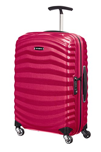 Samsonite Lite-Shock Spinner 4-Rollen Kabinentrolley 55 cm bright pink
