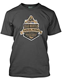 Neil Young inspired Sugar Mountain Heart of Gold Camiseta, Hombres