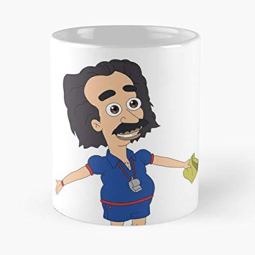 Coach Steve Big Mouth Netflix Show Animation Awkward Creepy Legend Cult Friend - Best 11 Ounce Ceramica Coffee Mug Gift