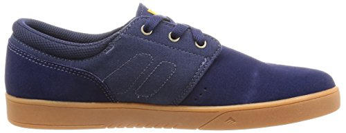 Emerica The Reynolds Low Vulc, Chaussures de skateboard homme blue