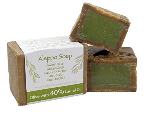 savon-dalep-artisanal-traditionnel-naturel-et-authentique-huile-dolive-et-huile-de-laurier-40-200gm