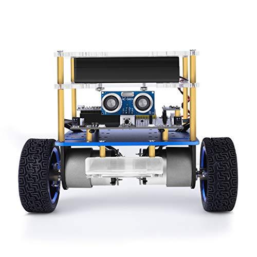 Elegoo Kit Auto per Robot autobilanciante Tumblr Compatibile con Arduino Kit STEM Giocattoli per Bambini