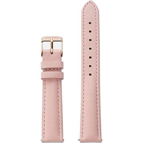 Cluse Damen Uhrenarmband Leder rosa CLS304