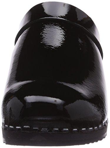 Gevavi 6006 Bighorn, Sabots Femme Nero (Schwarz (schwarz(zwart lak) 90))