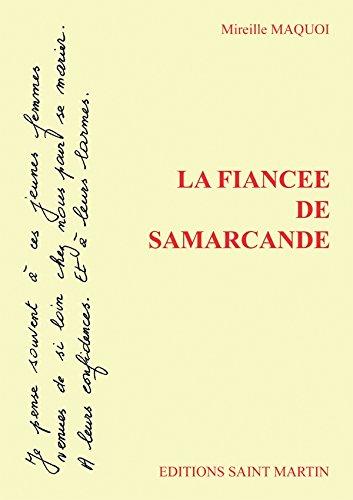 La Fiancée de Samarcande par Mireille Maquoi