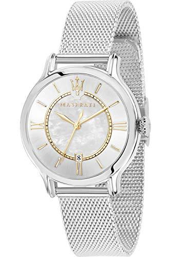 Maserati epoca Reloj para Mujer Analógico de Cuarzo con Brazalete de Acero Inoxidable R8853118504
