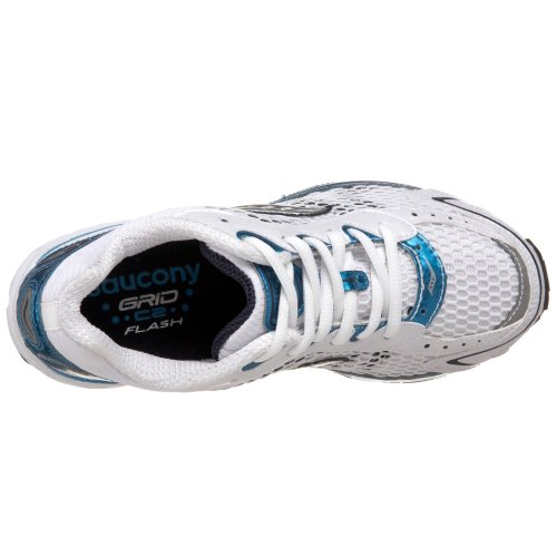 Saucony Damen Damen Grid C2Flash Laufschuh Weiß/Blau