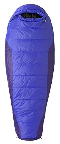 Marmot Sunset 20 Sleeping Bag Women Long Electric Blue/Dahlia Purple 2016 Mumienschlafsack - 2
