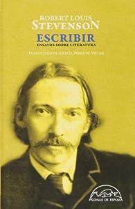 Escribir par Robert Louis Stevenson
