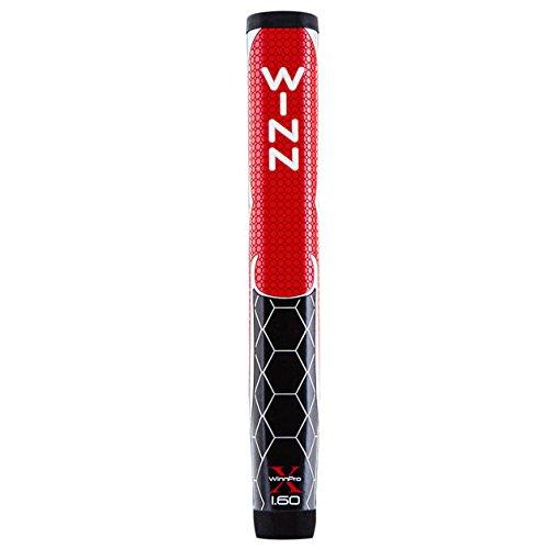 Rbk Golf (WinnPro X 1.60 Inch Jumbo Putter Grips Red/Black Red/Black)