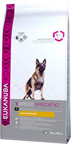 Eukanuba Premium Hundefutter für Deutsche Schäferhunde, Trockenfutter mit Huhn, 1er Pack (1 x 12 kg)