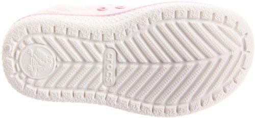 Crocs ,  Mädchen Freizeitschuhe Gold/Bubblegum