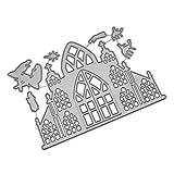 Rifuli Stanzmaschine Prägeschablonen Scrapbooking Schablonen Schneiden Schablonen Metall Prägeschablonen für Grußkarten Geburtstag Ostern Hochzeit Scrapbook Deko 91207%038