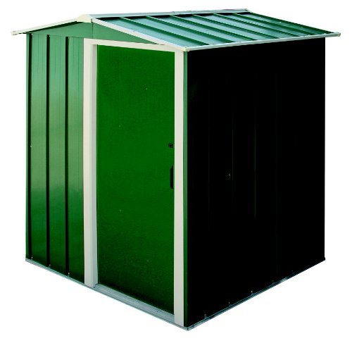 Tepro Gartenhaus / Metallgerätehaus Eco 5x4 grün