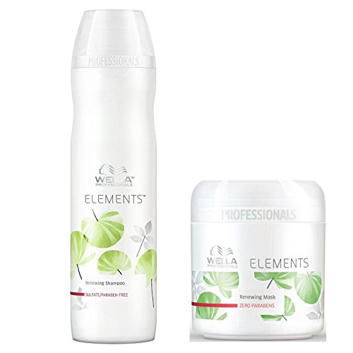 Wella Professional Elements Renewing Shampoo & Mask Combo