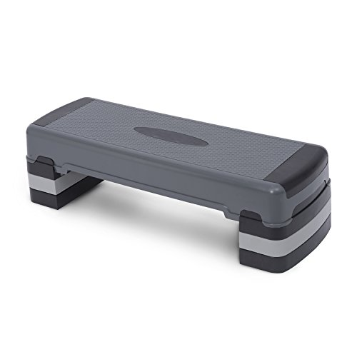 Homcom höhenverstellbar Aerobic Schritt Fitness 3Level Gym Stepper