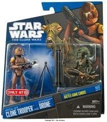 Special OPS Clone Trooper & Geonosian Drone im Set Star Wars - The Clone Wars von Hasbro