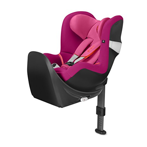 CYBEX Sirona M2 i - Size Siège Auto Groupe 0+/1 Naissance - 4 ans Base M Inclus - Passion Pink