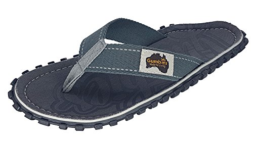 Gumbies Islanders Sandales Adulte Tongs Plage Chaussures Numéro 36 - 12 Uk Cool Grey