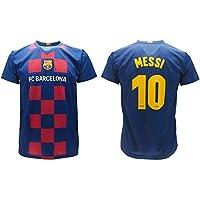 Maglia Messi 2020 Barcelona Ufficiale Home 2019 2020 in Blister Divisa Barcellona 10 Bambino Ragazzo Adulto (8 Anni)