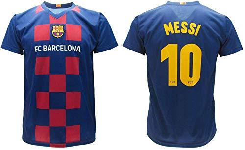 Messi 2020 Barcelona Offizielles Heimtrikot Home 2019 2020 in Blister Trikot für Kinder und Erwachsene, blau, 4 anni