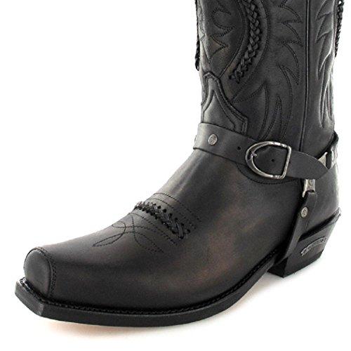 Sendra Boots3434 - Stivali da Motociclista Unisex – adulto Nero (Nero)