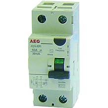 AEG AUN604449 - Interruptor diferencial (63 A, 30 mA, tipo CA)