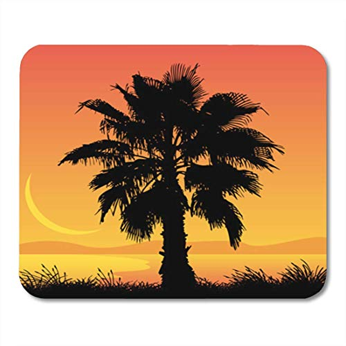 HOTNING Gaming Mauspad Plant Palm Tree Tropical Background Beautiful Beauty Coco Exotic Grass 11.8