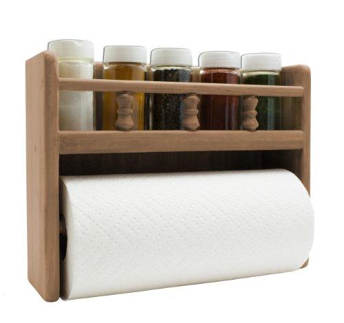Spice Papier (SeaTeak 62446Papier Handtuch Rack mit Spice Rack)