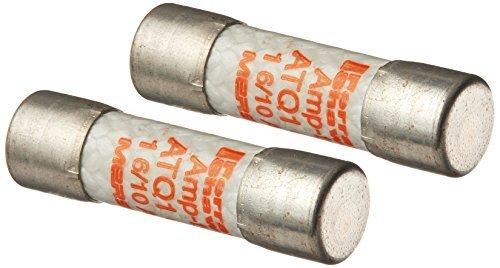 Mersen ATQ Amp-Trap Time-Delay Midget Fuse, 500VAC, 10kA, 1-6/10 Ampere, 13/32 Diameter x 1-1/2 Length by Mersen