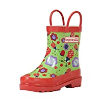 Target Dry Ladybug Girls Cotton Lined Rubber Wellies