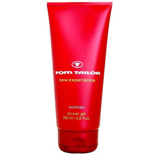 Tom Tailor New Experience donna Bath & Shower Gel 200 ml, 1er Pack (1 x 200 ml)