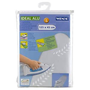 Wenko Ideal 2910060056 Housse pour table à repasser Aluminium 125 x 45 cm