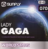 Sunfly Karaoke World Stars Volume 70 - Hits Of Lady Gaga (CD+G)