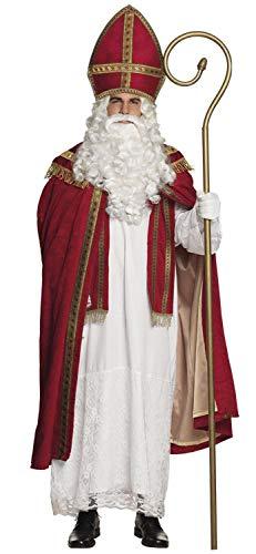 Großbritannien Weihnachtsmann Kinder Kostüm - Boland 56840 Erwachsenenkostüm Sankt Nikolaus Gr. L/XL, Mehrfarbig