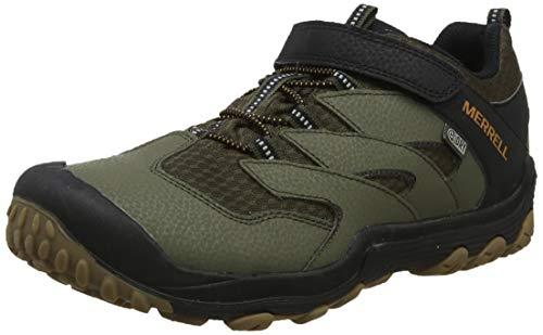 Merrell Unisex-Kinder M-Chameleon 7 Low A/c WTRPF Trekking- & Wanderhalbschuhe, Grün Dusty/Olive, 32 EU - Schuhe Merrell Junge