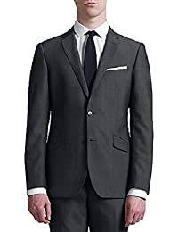 5c389185b8c John Lewis KIN Stamford Tonic Slim FIT Suit Jacket 40 Long Grey Slate