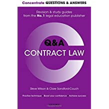 Concentrate Questions and Answers Contract Law: Law Q&A Revision and Study Guide (Concentrate Law Questions & Answers)