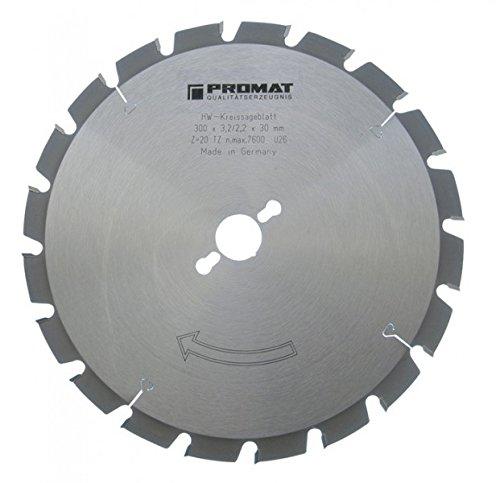 PROMAT 814901 Kreissägeblatt HM FF 20Z. D.315mm B.3,2mm PROMAT Bohrung 30mm