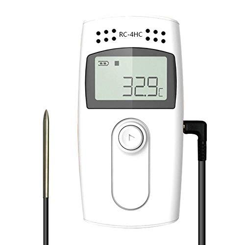 Temperatur Datenlogger-Therm RC-4HC USB Temperatur Feuchtigkeits datenlogger 16000 Punkte Aufnahme kapazität externem Sensor Thermometer Hygrometer Monitor