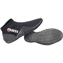 Mares equator boot 2 bottes de plongée- Noir - Noir -40/41 EU (Taille Fabricant:8)
