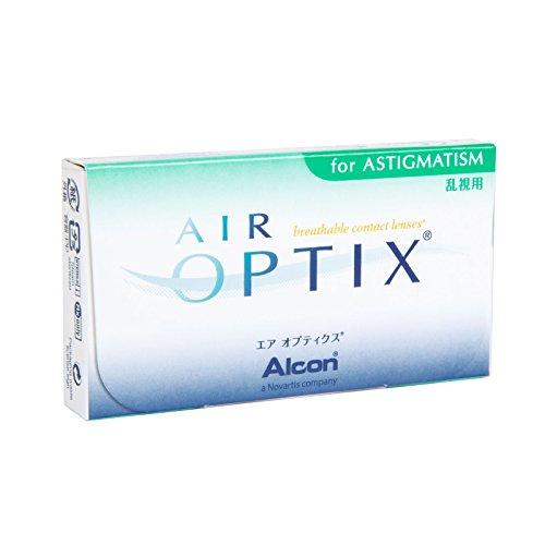 Air Optix for Astigmatism Monatslinsen weich, 3 Stück / BC 8.7 mm / DIA 14.5 / CYL -0.75 / ACHSE 180 / -4  Dioptrien
